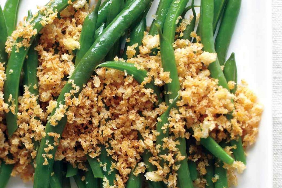Green Beans with Bread Crumbs - Uncle Vinny's Produce