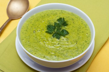 Spinach, Potato and Nutmeg Soup